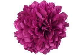 fabric flowers jumbo taffeta fabric flower fuchsia cv linens