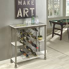 home styles the orleans storage wine rack home kitchen