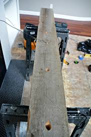 how install a barn beam mantel u2014 decor and the dog