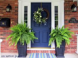 Front Door House 16 Blue Door House Carehouse Info