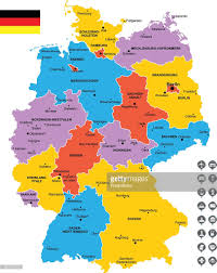 Munich Map Detailed Vector Map Of Germany Vector Art Getty Images