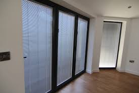 Glass Blinds Intergral Glass Blinds North West Bifolds