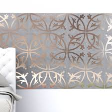 Modern Tile Bathroom Hybrid Between A Wallpaper And A Tile Pattern Decotal Tiles