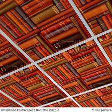 cardboard suspended ceiling tile decorative art foldscapes