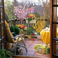 Lawn  Garden  Awesome Apartment Balcony Garden Ideas With Metal - Apartment patio design
