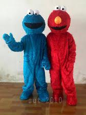 Cookie Monster Halloween Costume Adults 2pcs Dora Explorer Boots Mascot Costume Size