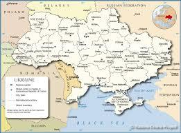 World War 1 Political Map by Ukraine Maps Eurasian Geopolitics