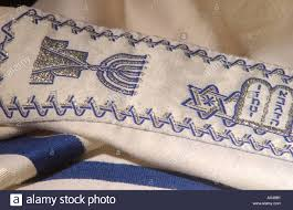 prayer shawl symbolism judaica symbols prayer shawl stock photo 1722544 alamy