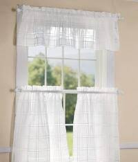 White Valance Kitchen Valances In Solid Colors Country Curtains