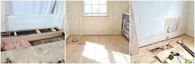 how to cut through subfloor patching and repairing subfloor at s house