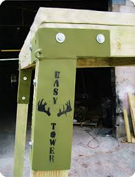 Metal Hunting Blinds Easy Tower Brackets For The Box Blinds D Hunting Stuff
