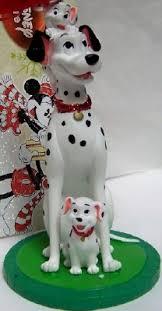 disney 101 dalmatians pongo and puppies ornament new