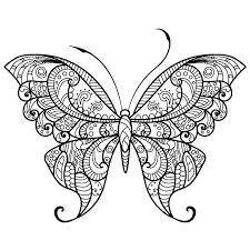 detailed butterfly coloring pages for adults butterflies coloring page butterfly coloring page breathtaking