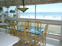 dining rooms direct siesta key direct ocean front every room vrbo