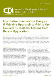 comparative analysis essay sample qualitative comparative analysis better evaluation qualitative comparative analysis a valuable approach to add to the evaluator s toolbox lessons from recent applications