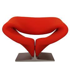 pierre paulin chair lounge chair f444 by pierre paulin for