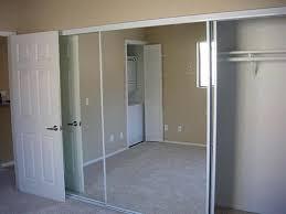 Mirror Closet Door Repair Closets Doors Sliding Painted Sliding Closet Doors Faux Trim