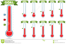 Donation Thermometer City Espora Co Thermometer For Fundraising Template