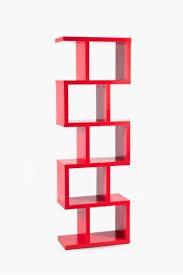 Small Red Bookcase Get Living Room Shelves U0026 Room Dividers Online Mrp Home