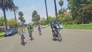 Los Angeles Street Cleaning Map by La In A Day Bike Tour Bikes And Hikes La