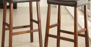 intrigue model of beatitude counter height saddle bar stools