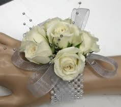 white corsages for prom occasions2 flowers of the field las vegas