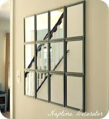 Low Cost Wall Decor Best 25 Diy Mirror Ideas On Pinterest Cheap Wall Mirrors Farm