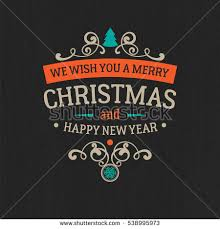 chalkboard style merry christmas illustration download free