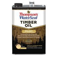 thompson u0027s waterseal 1 gal walnut brown penetrating timber oil