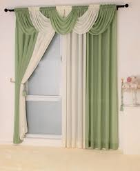 window modern valance kitchen curtain patterns gray cafe curtains
