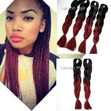 super x braid hair wholesale wholesale amaze burgundy ombre african box hair braiding