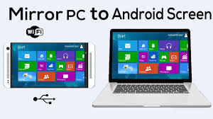 pc to android how to mirror or display your pc screen on android phone no root