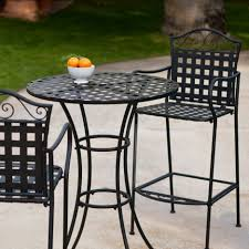 Black Metal Bistro Table Dining Room Breathtaking Outdoor Small Dining Room Decoration