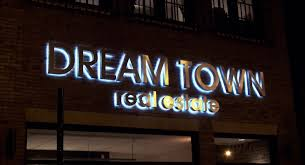 used outdoor lighted signs for business backlit letters stainless steel backlit signage impact signs