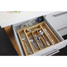 bamboo flatware berghoff cooknco 15 in x 20 in x 2 in bamboo 6 slot expanding