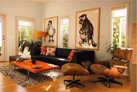 bedroom brown and orange living room lovely brown blue and