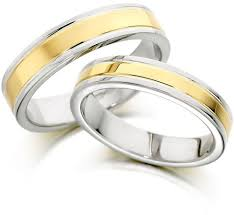 saudi gold wedding ring buy 18k white gold two tone finish wedding band ring in size 20