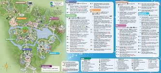 Magic Mountain Map 2014 Walt Disney World Park Maps With Fastpass Photo 5 Of 8