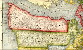 Washington County Map Clallam And Jefferson Counties Washington 1909 Map Tacoma U2022 Mappery