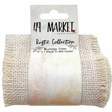 burlap ribbon burlap ribbon roll 4 x 1m 49 and market