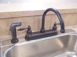 bronze faucet stainless sink home design