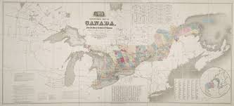 St Lawrence River Map Government Map Of Canada From Red River To The Gulf Of St
