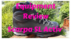 hiking boots s canada reviews equipment review scarpa sl active hiking boot