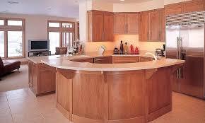 curved kitchen islands curved kitchen island fitbooster me