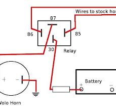 universal horn on wiring diagram wiring diagram simonand