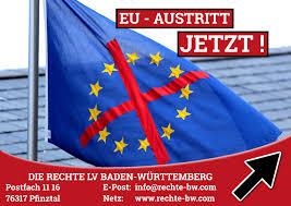 Baden Wurttemberg Flag Aufkleber Die Rechte U2013 Landesverband Baden Württemberg