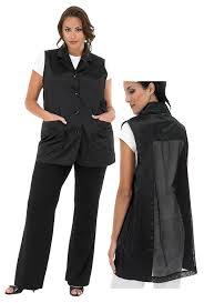 hair fashion smocks amazon com a size above plus size vented mesh back salon stylist