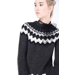 red valentino u0027lopi u0027 motif wool sweater knit sweater women red