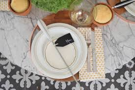 Table Setting by Thanksgiving Table Setting Ideas