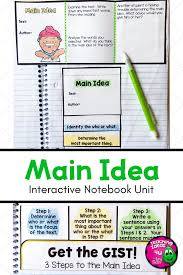 how to find the main idea in 3 easy steps teachingideas4u by amy
